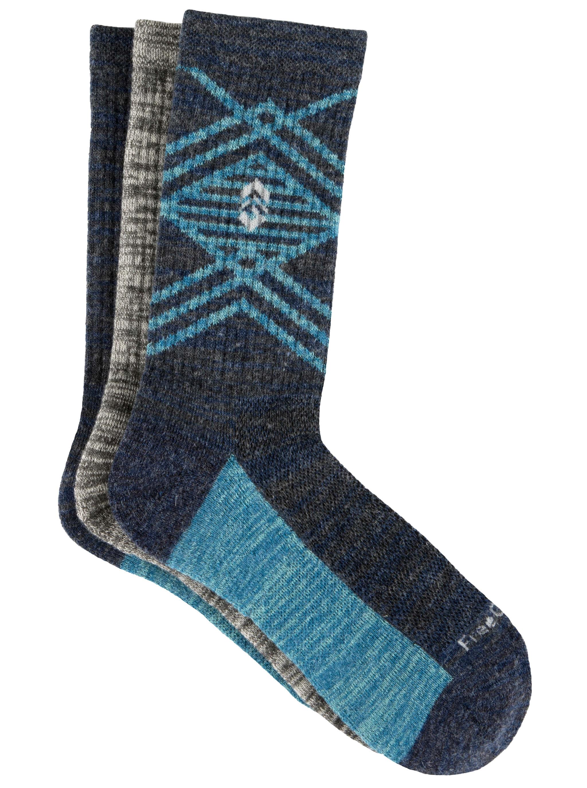 Women's Wool-Blend Pop Marl Crew Socks