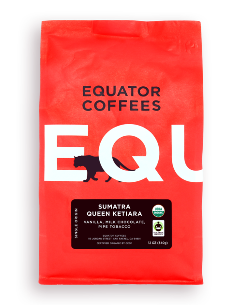 Sumatra Queen Ketiara Fair Trade Organic