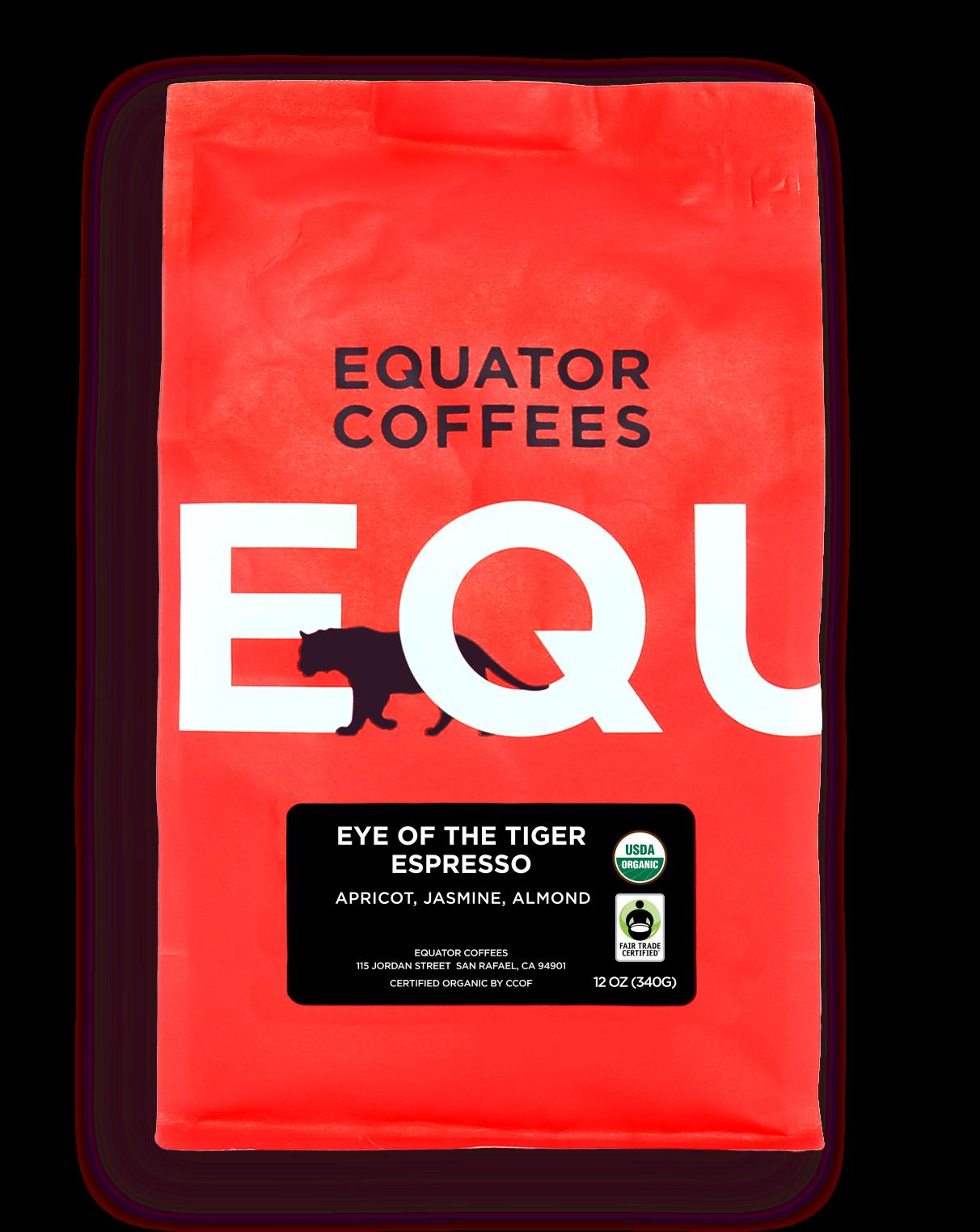 Eye of the Tiger Espresso Fair Trade Organic
