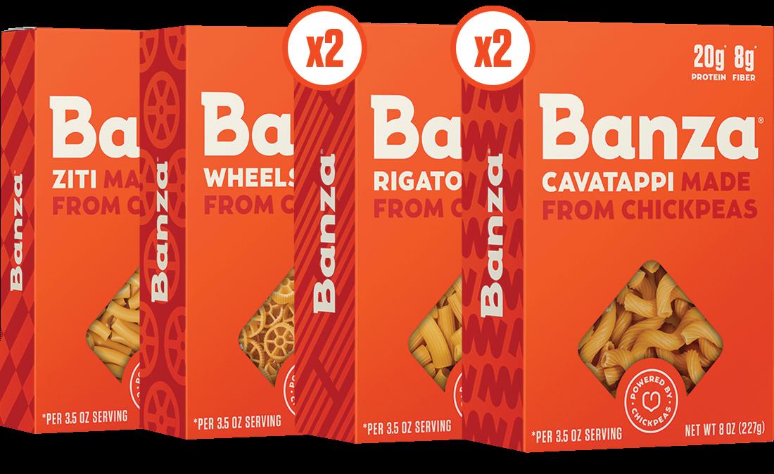 Rigatoni, Cavatappi, Ziti, & Wheels Variety Case