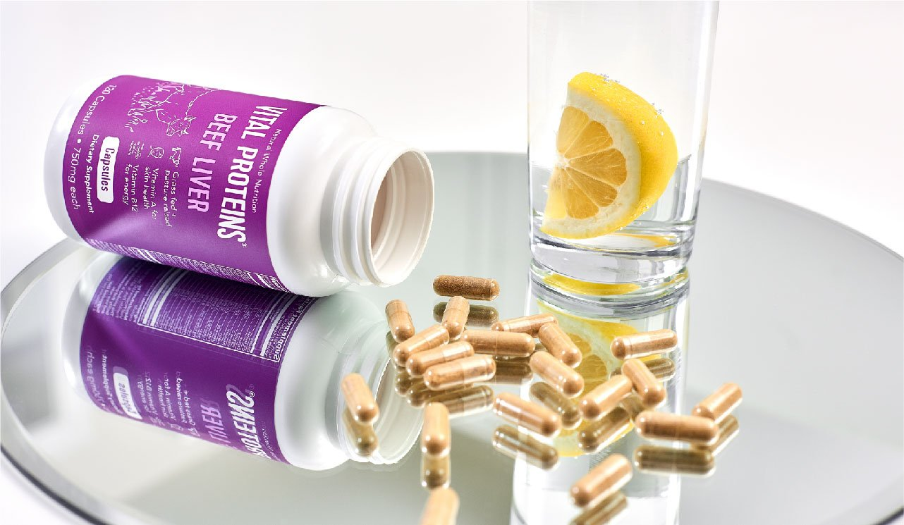 Desiccated Beef Liver Capsules - Vital