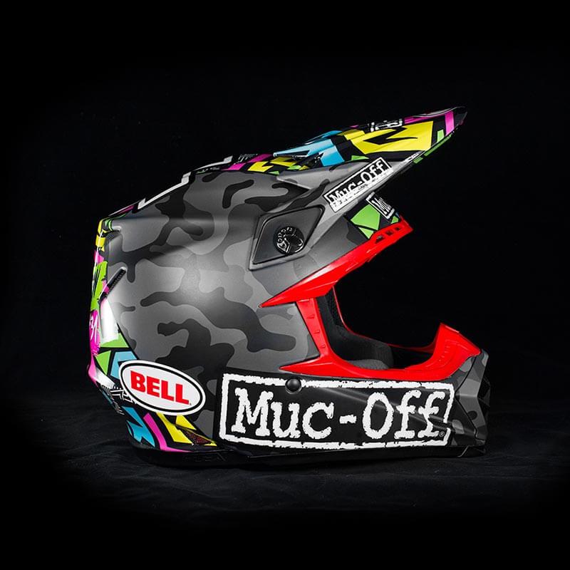 Jake Shipton - Custom Helmet Image 2