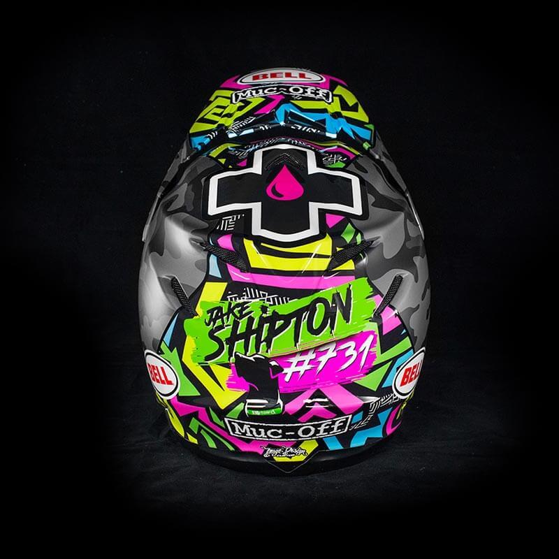 Jake Shipton - Custom Helmet Image 4