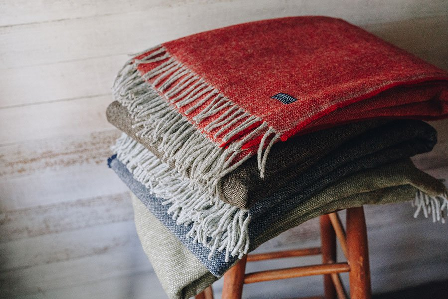 image of Ashby Twill Wool Throw