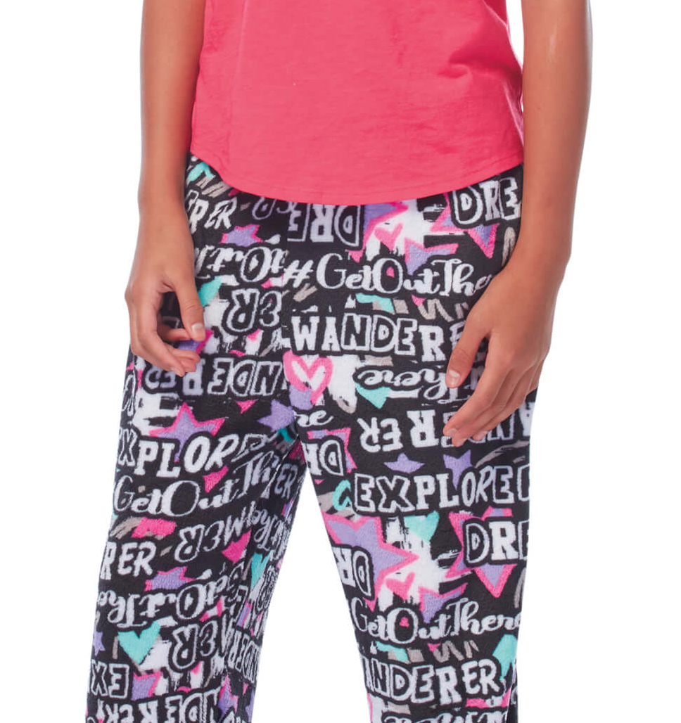 Girls' Lazy Day Pants - 2-Pack