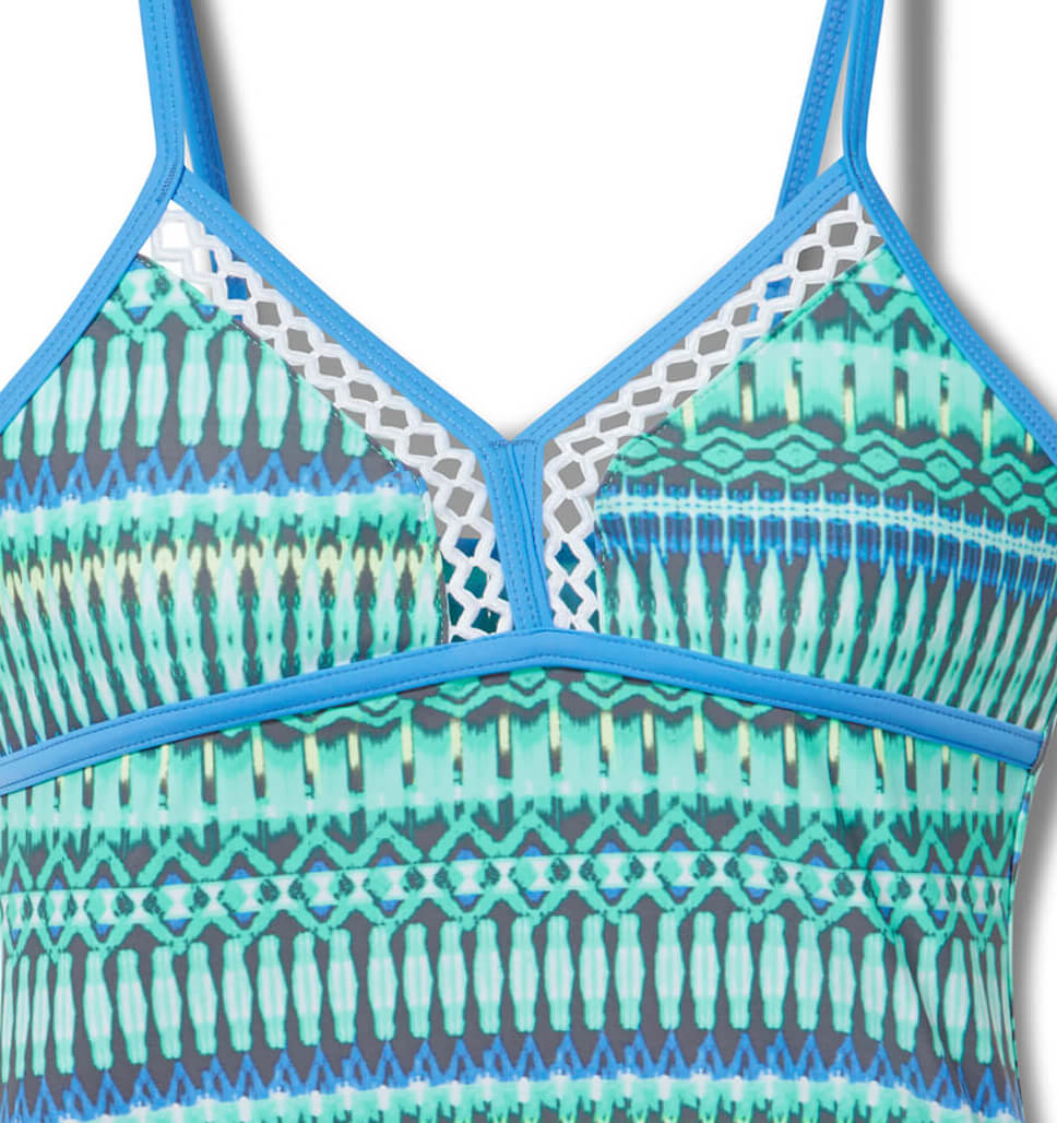 Girls' 2-Piece Beach Batik Tankini and Short Swim Set