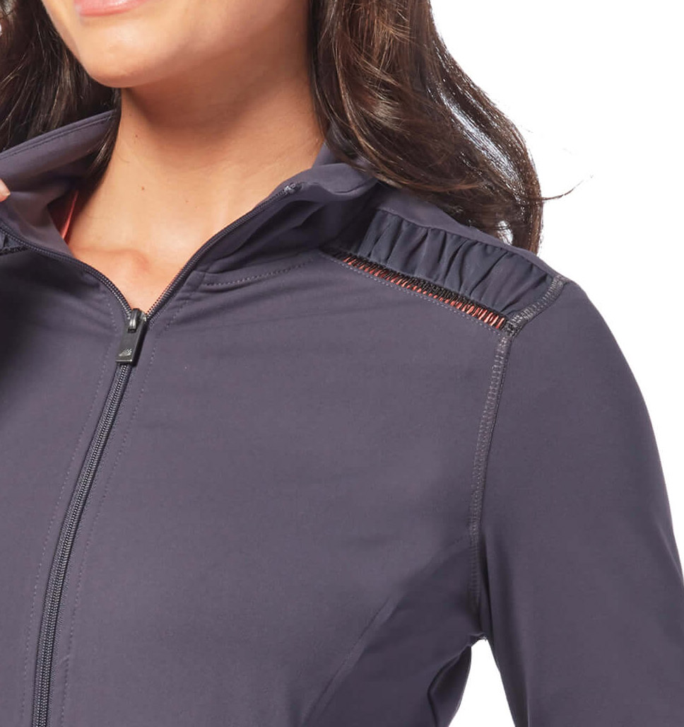 Free Country Women's Free2B Shirred Jacket - Navy - S