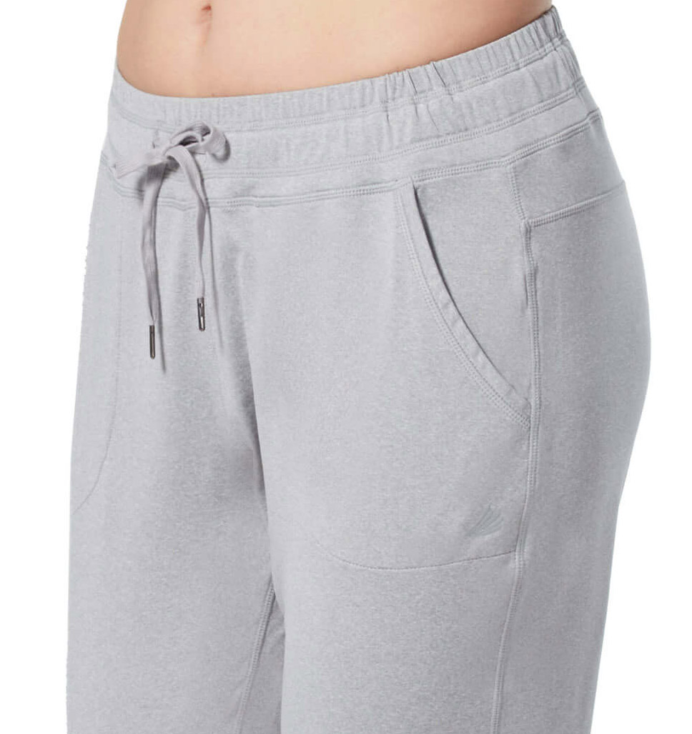 Free Country Women's Free2B Heathered Brushed Jogger - Electric Azure - S