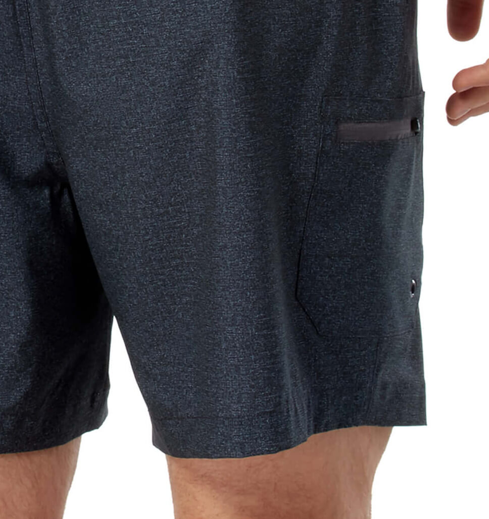 Free Country Men's Textured Board Short - Indigo - S
