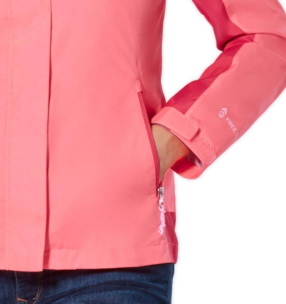 Free Country Women's Sunswept Athletx Windbreaker Jacket - Spearmint - S