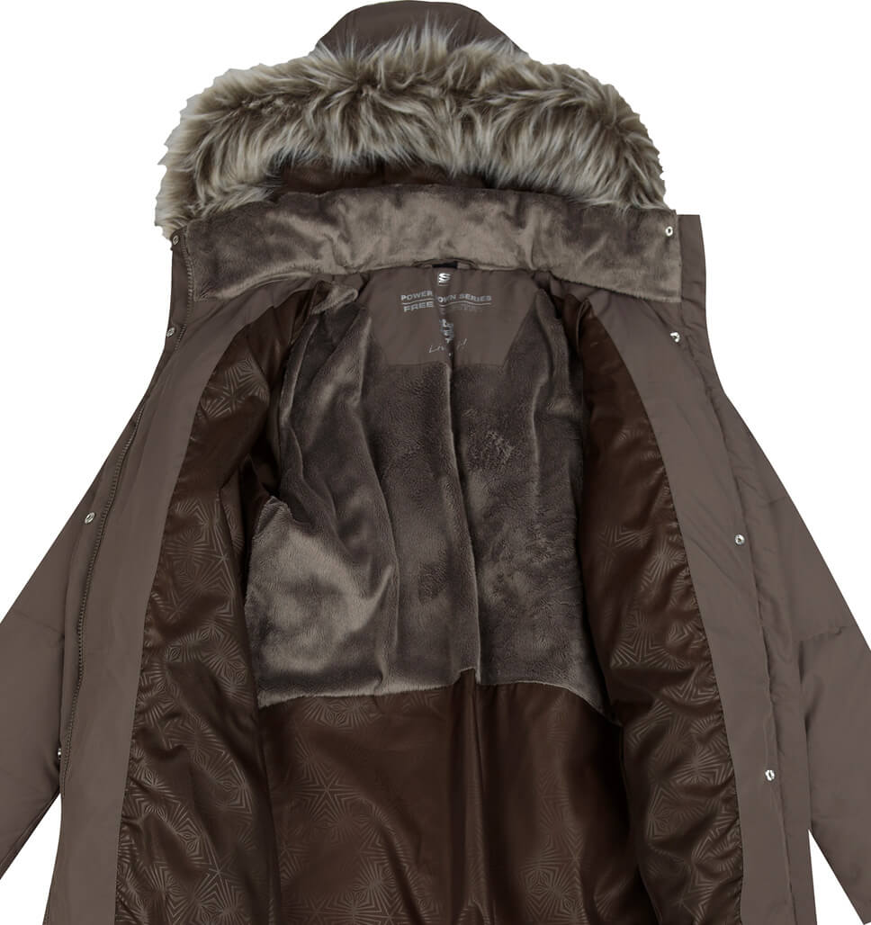 Women's Petite Full Length Splendor Down Jacket