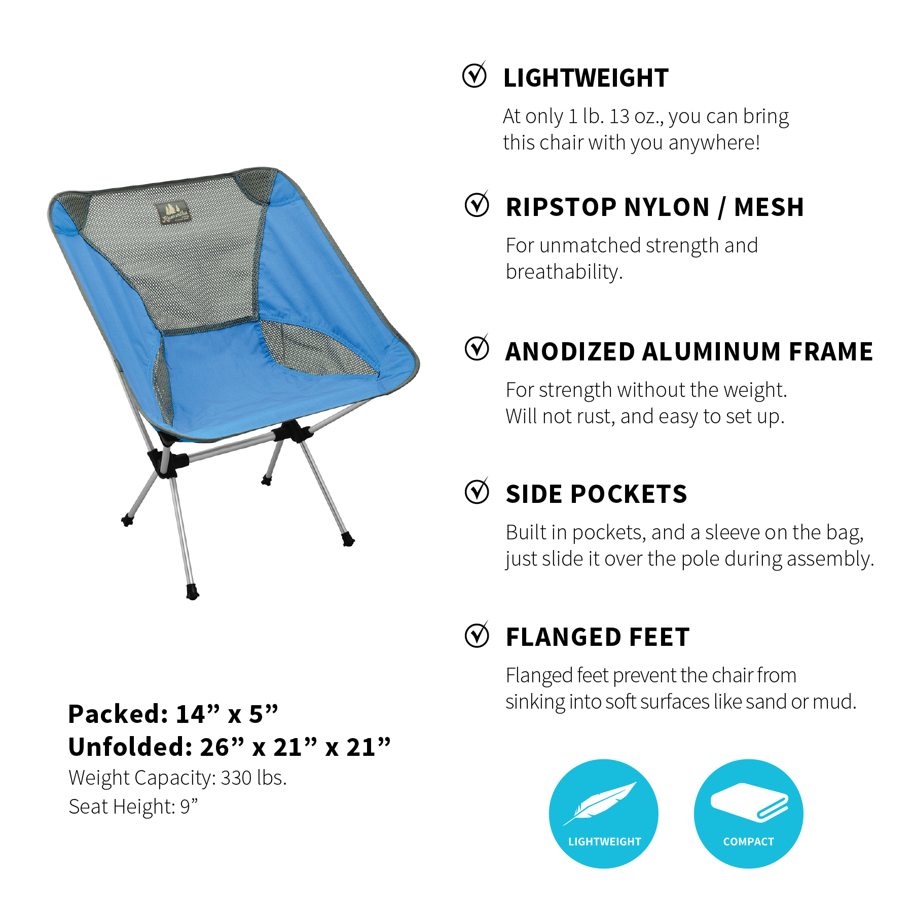 BOGO Camp Chairs