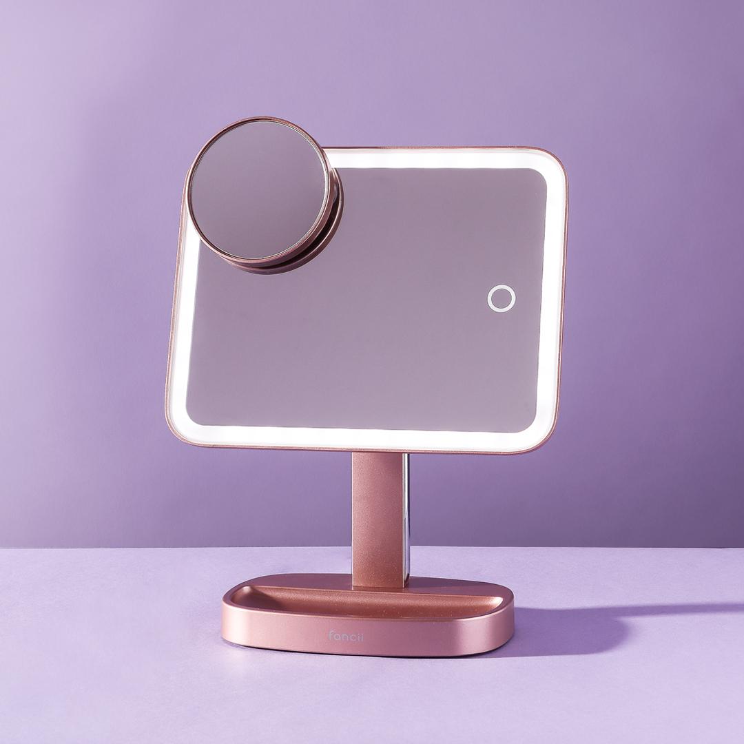 Aura-vanity-mirror-tilted-LED-lights