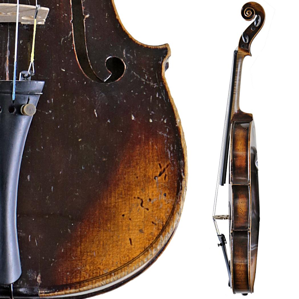 Wilhelmj Violin in action
