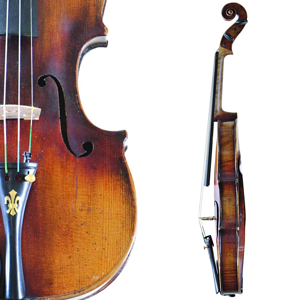 Francesco Ruggieri Copy Violin in action