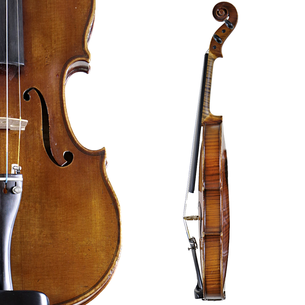 Eugen Meinel Violin in action