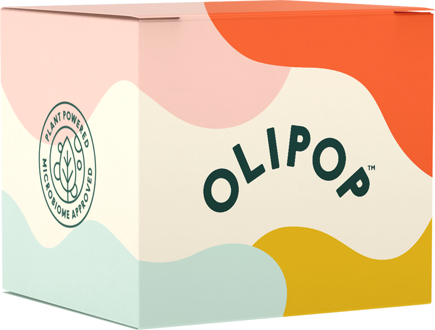 Colorful OLIPOP variety pack package