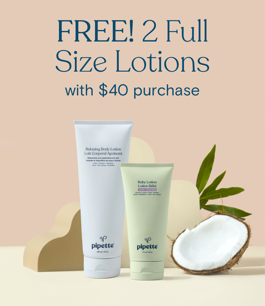 Free Gift! Mom Lotion + Baby Lotion with $40 Purchase