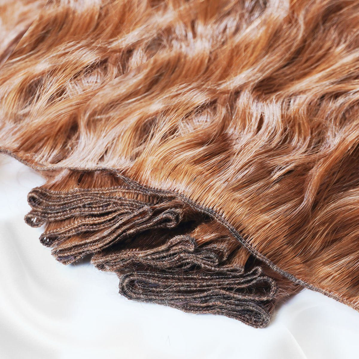 hand-tied weft hair extensions