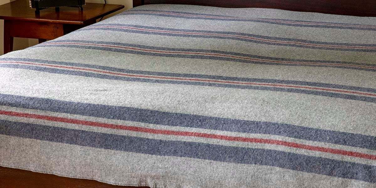 image of Cabin Wool Blanket