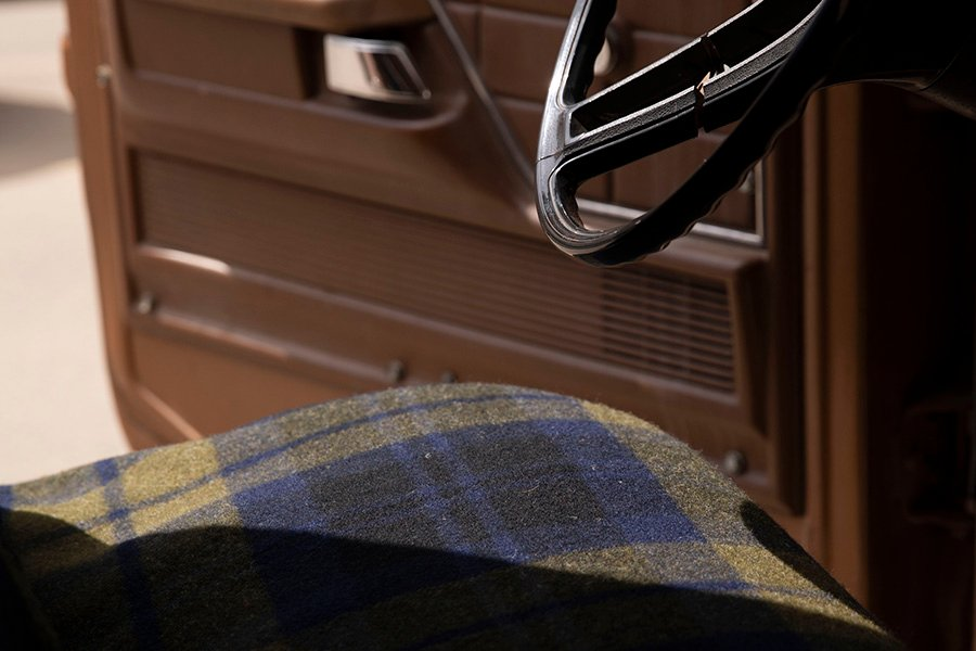 image of Shadow Plaid Wool Blanket
