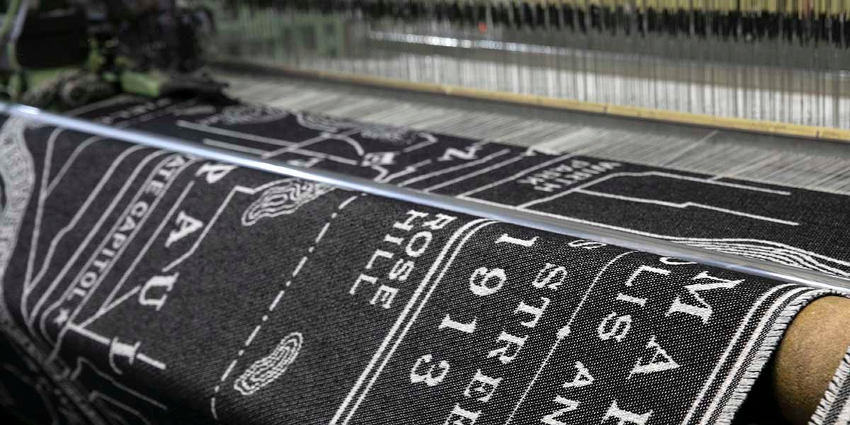 image of Vintage City Map Wool Throw