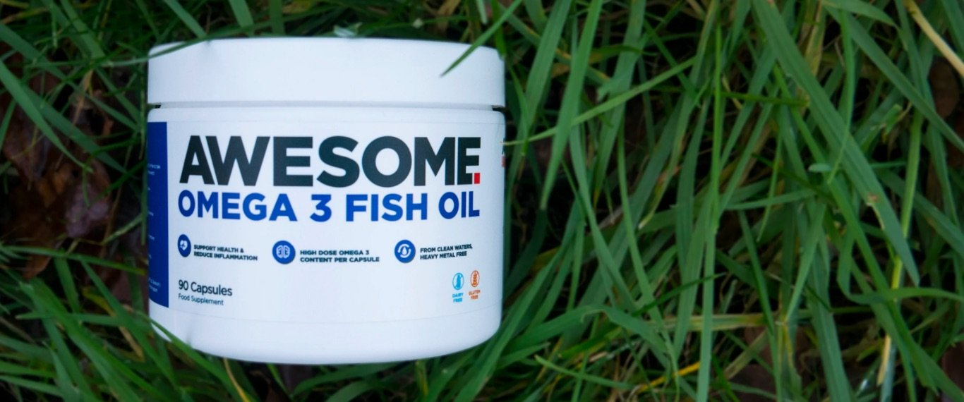 Awesome Fish Oil hero banner