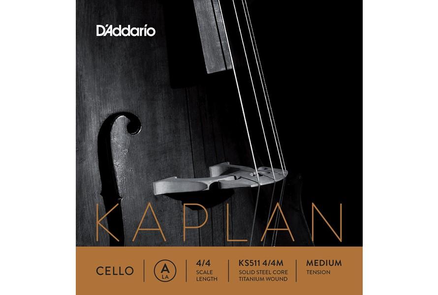 D'Addario Kaplan Cello String Set in action