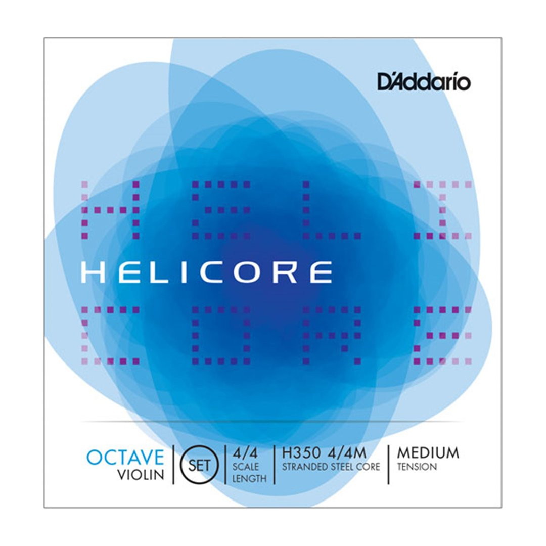 D'Addario Helicore Octave Violin String Set in action