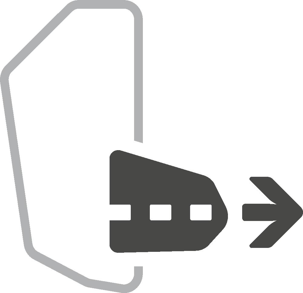 Pull-Forward Hip Fin-Deuter