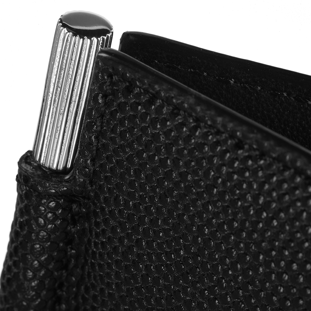 9812cf6d3d6b Caviar Moneyclip Wallet Black-Silver – Fisher Woordes