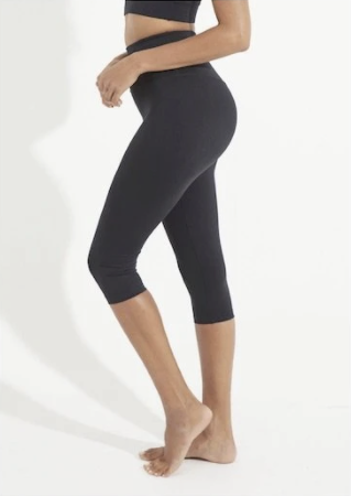 Balance Crop Legging - Emerald