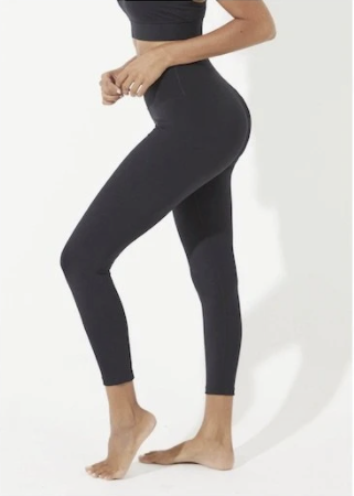 Spell Lace Ankle Length Legging - Black