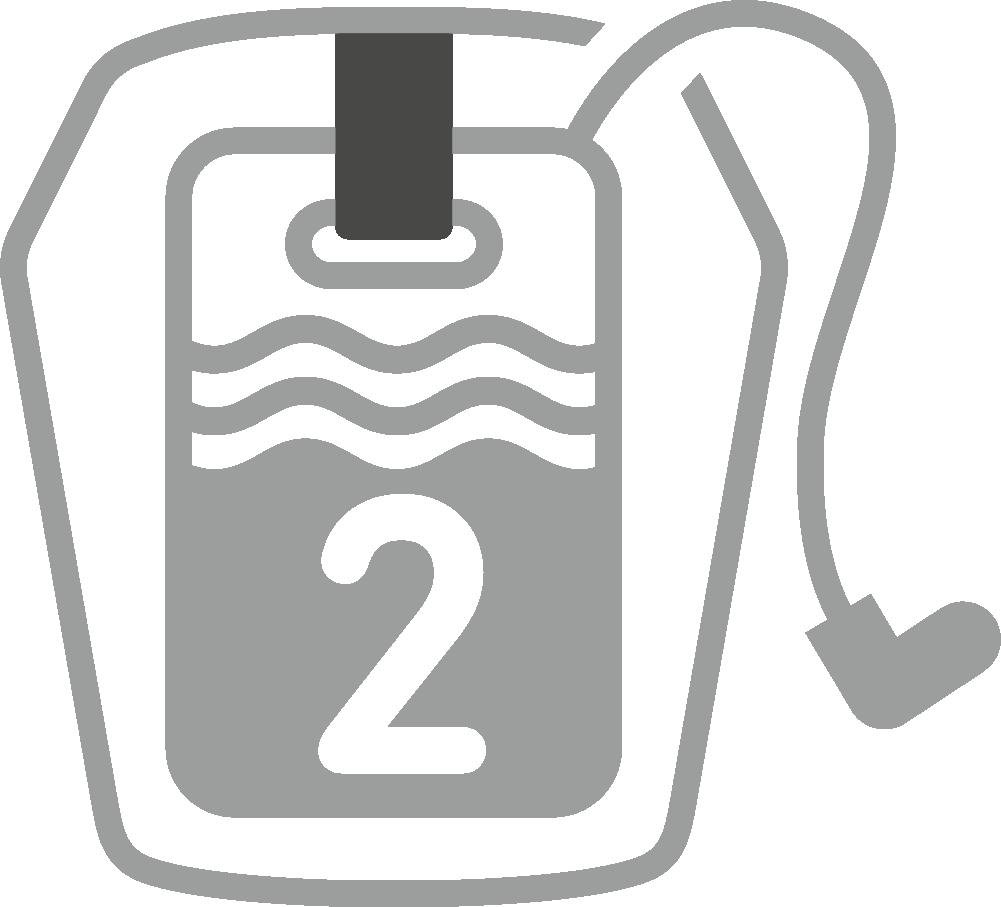 Hydration System 2.0 L compatible-Deuter