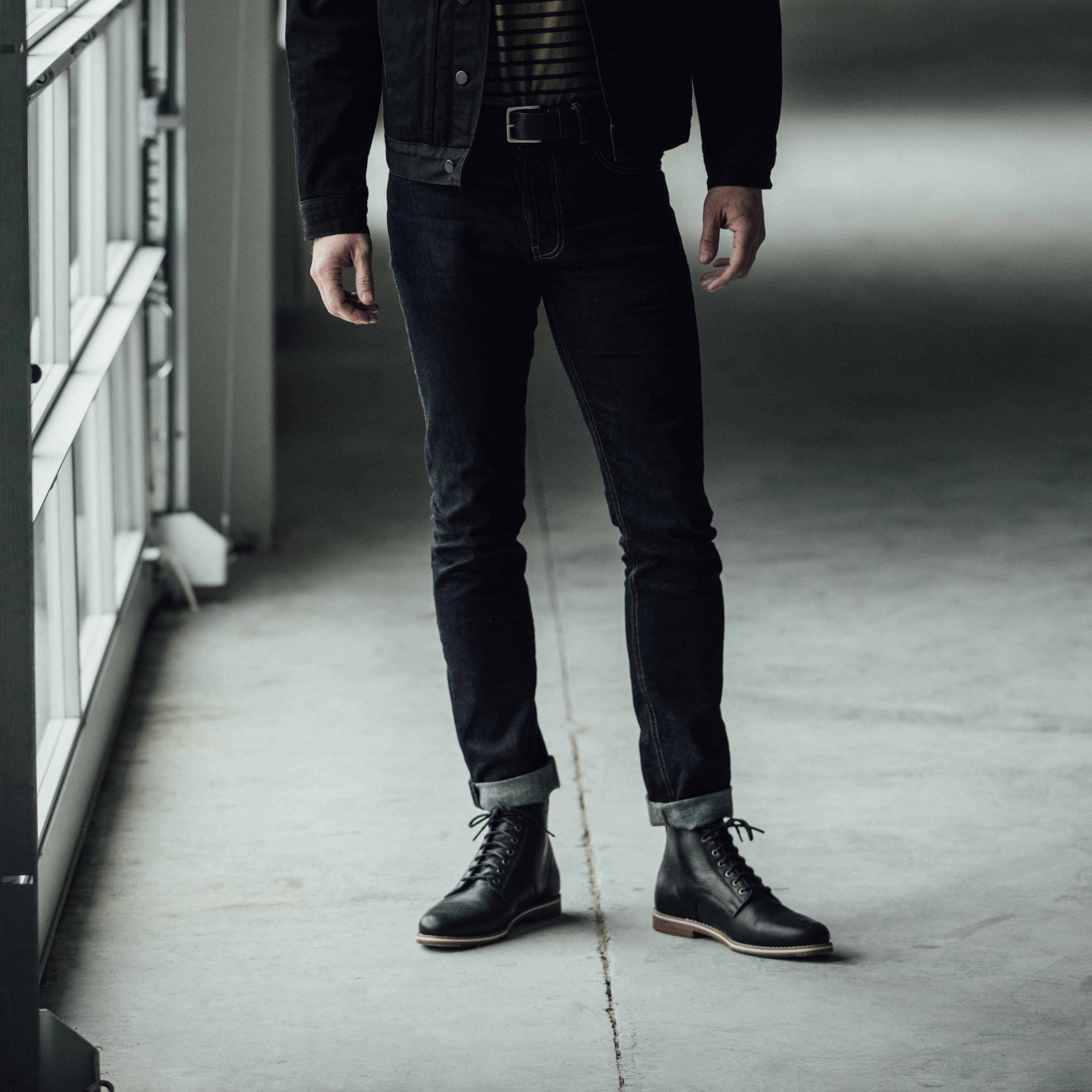 Zind Black being worn