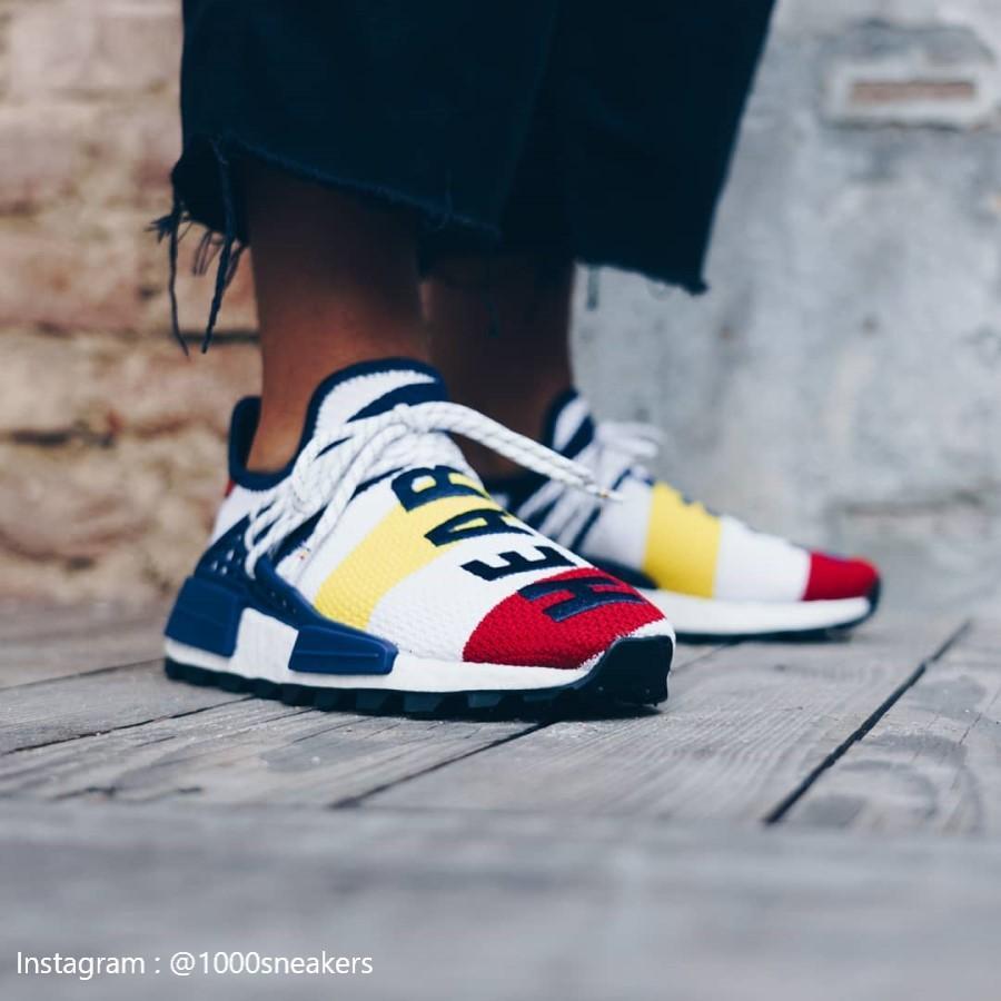 Adidas Hu Pharrell x Billionaire Boys Club Multi-Color