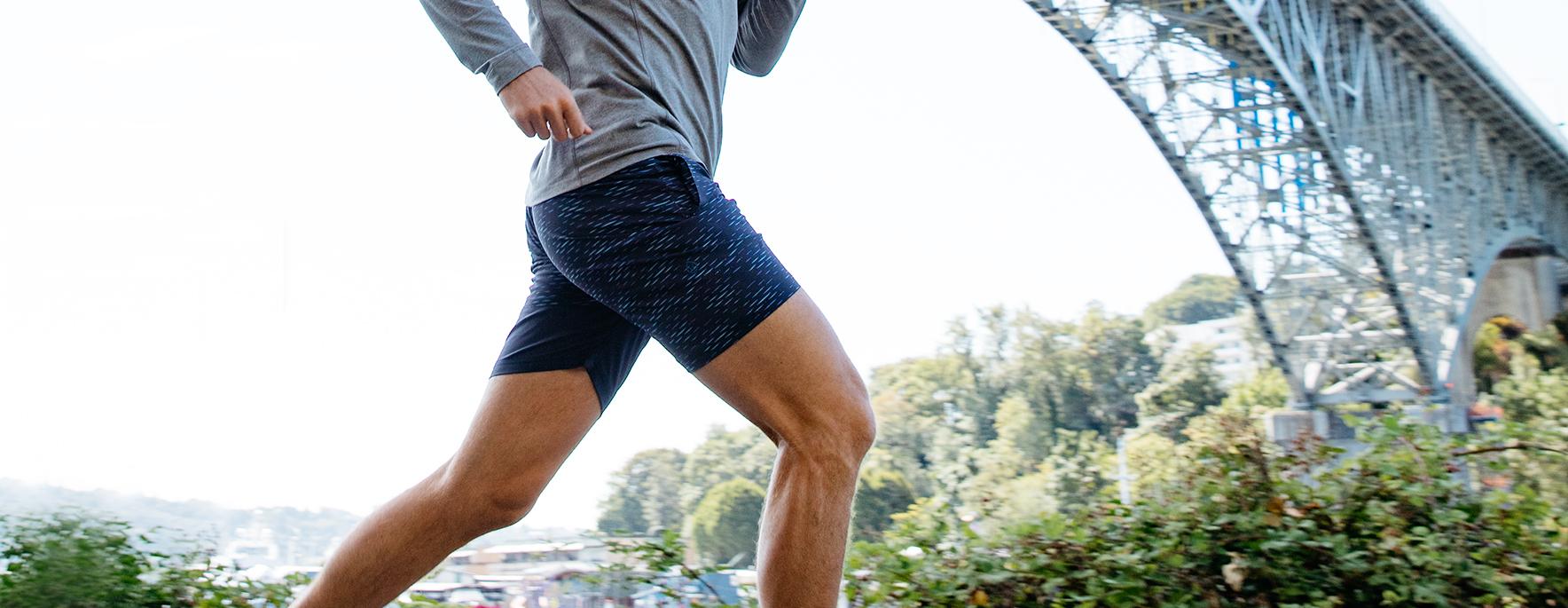 men's edge 2 in 1 shorts