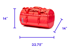 Go-Bag Big: size specifications