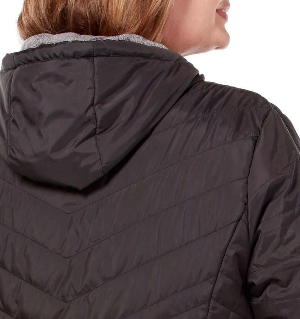 Women's Plus Size Caliber Midweight Reversible Jacket