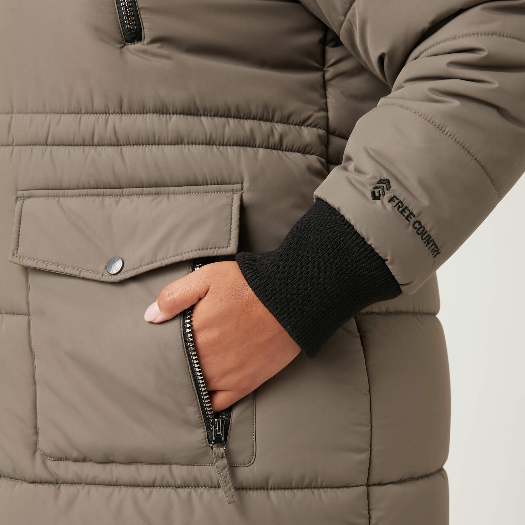 Women's Plus Size Diamond Glade II Parka Jacket