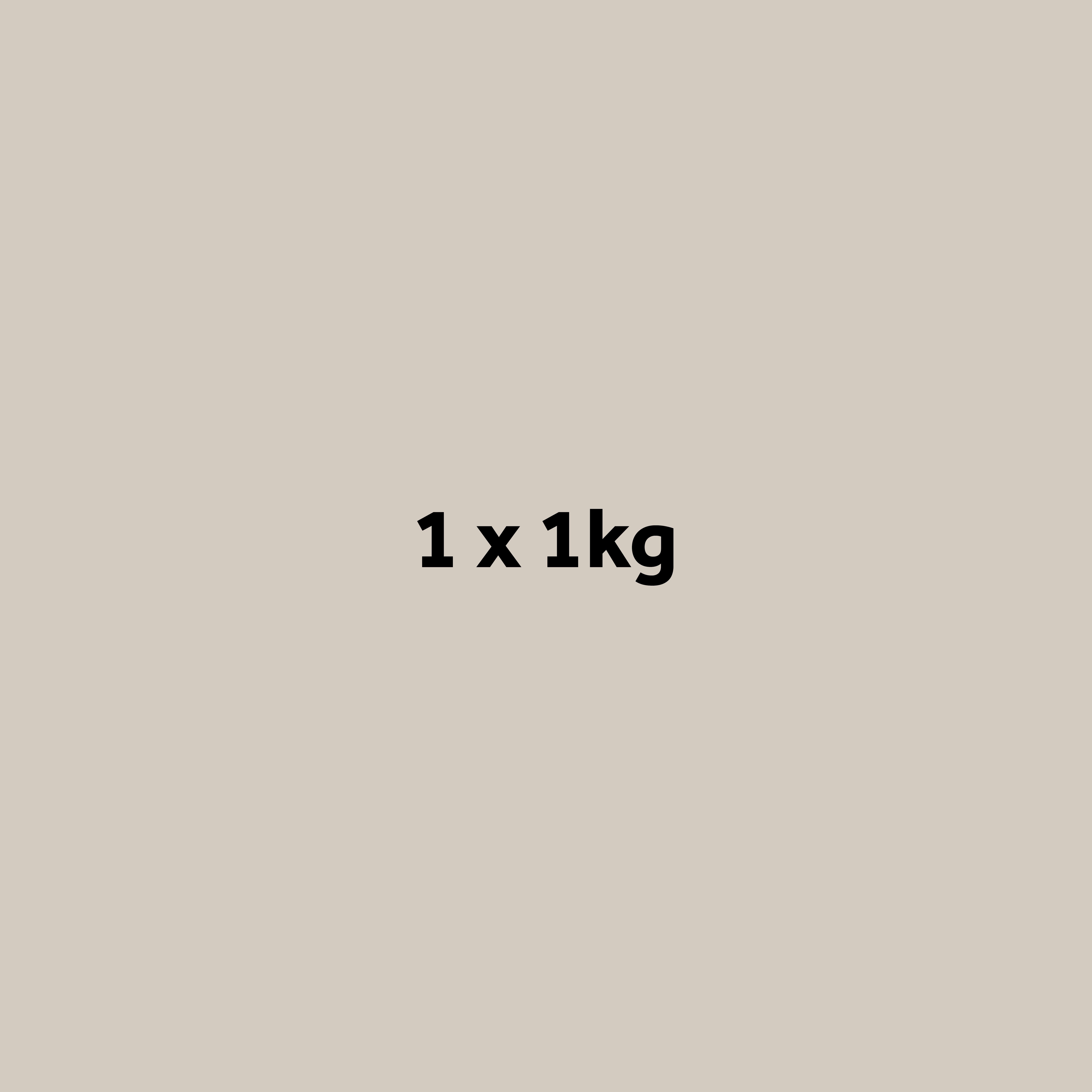 1 x 1kg