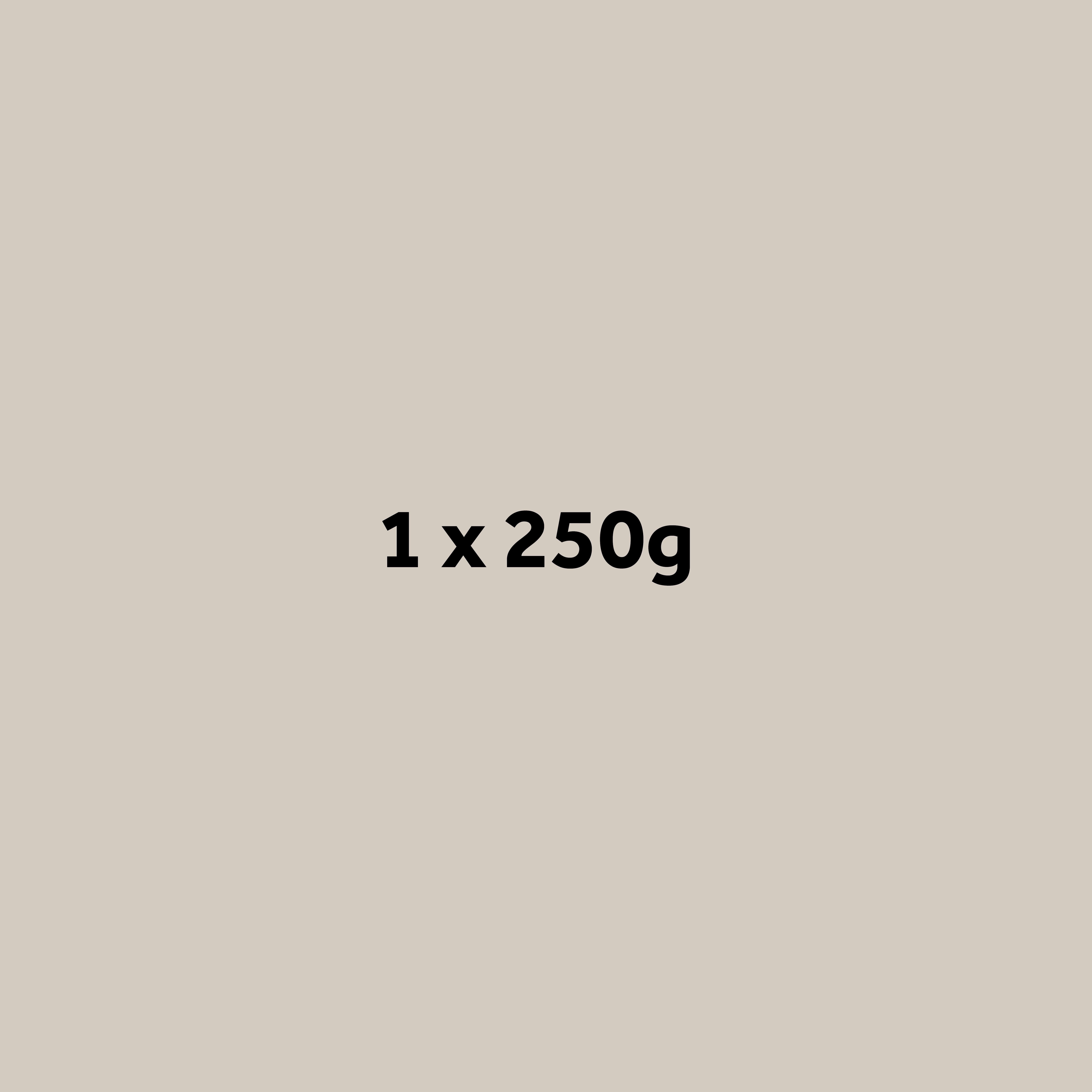 1 x 250g