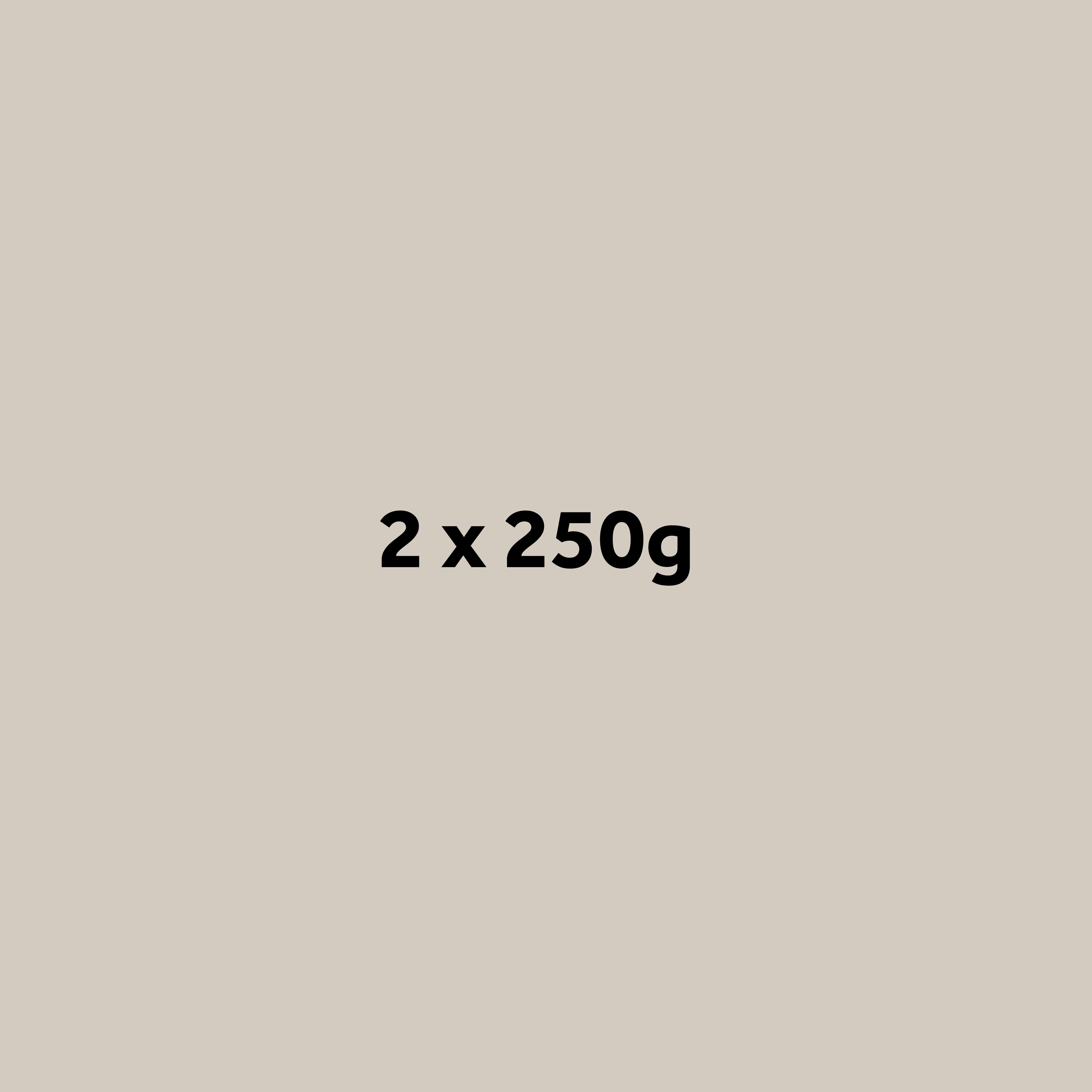 2 x 250g