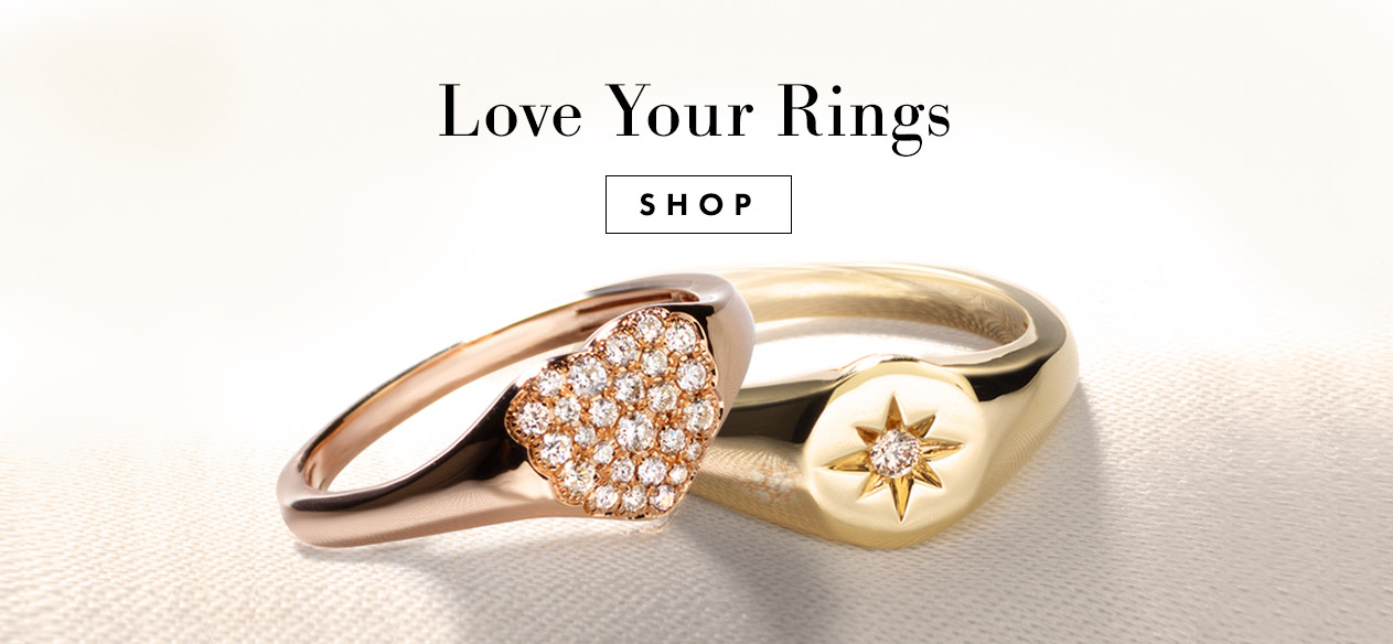 Serena William's Rings - Let the rings speak for you and make the message yours with stacks.