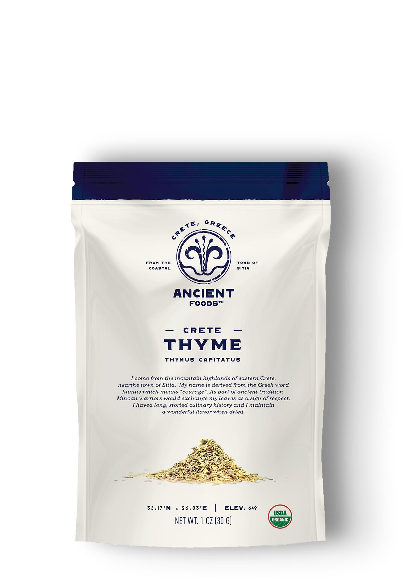 Organic Cretan Thyme