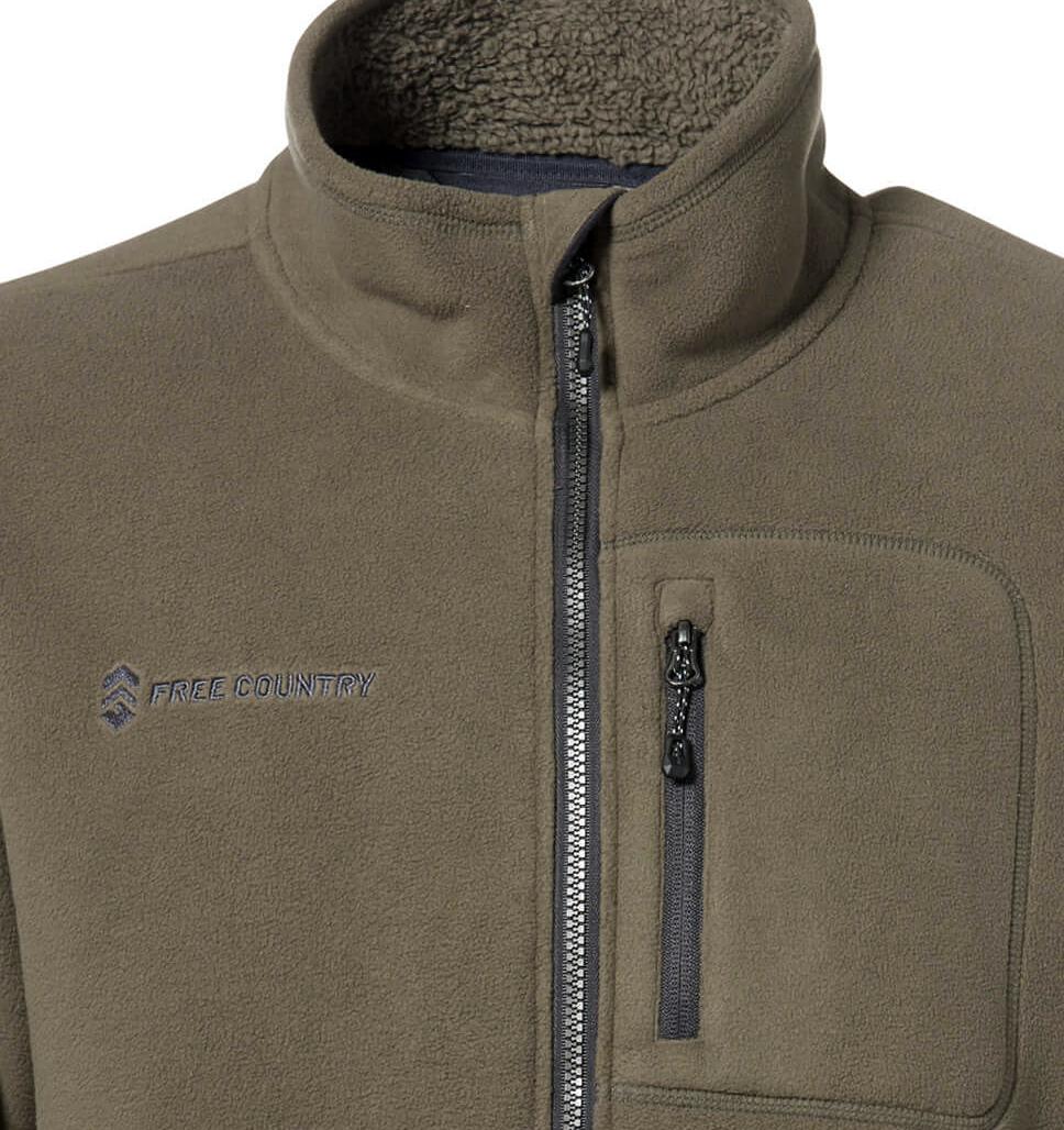 Men's Campfire Full Zip Fleece Jacket