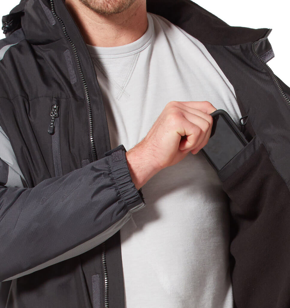 Men's Pinnacle Mid Weight Jacket