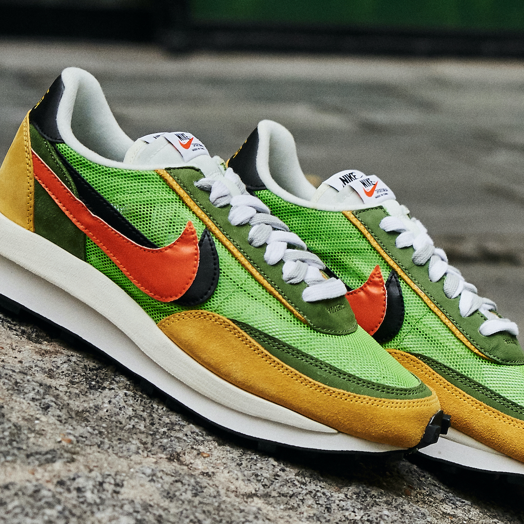 Nike LD Waffle Sacai Green Multi - BV0073-300