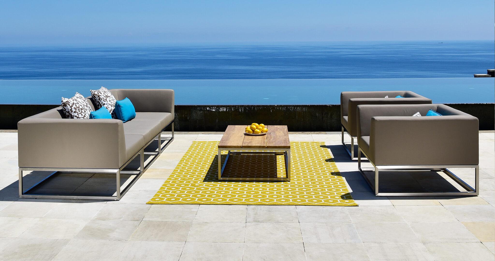 Latitude luxury outdoor sofa
