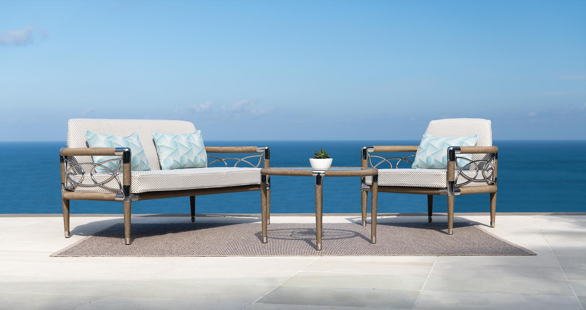 Luxury garden sofa set